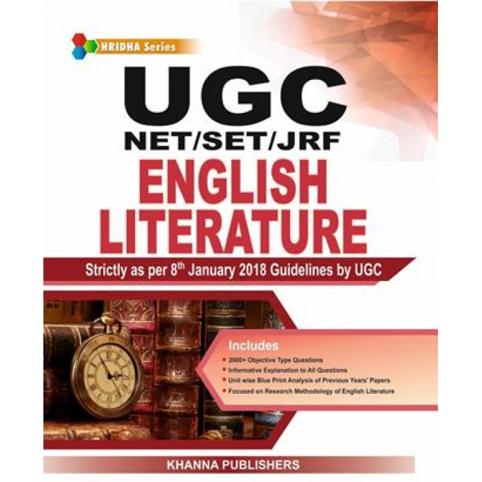 UGC NET/ SET ( JRF & LS ) ENGLISH LITERATURE