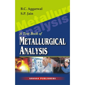 A Text Book of Metallurgical Analysis