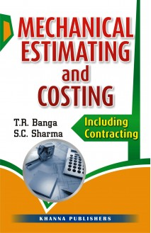 Mechanical Estimating and Costing Including costing