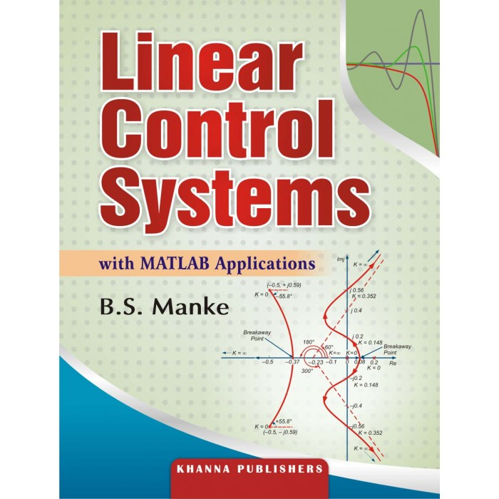 Linear Control Systems with MATLAB Applications