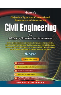 Objective type and conventional questions and answers on Civil Engineering