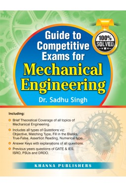 Competitive Examinations Handbook in Mechanical Engineering Handbook