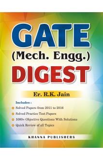 E_Book GATE Mechanical Engineering Digest