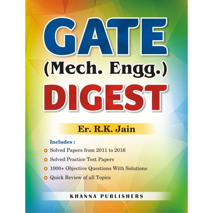 E_Book GATE Mechanical Engineering Digest