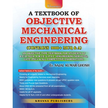 E_Book A Textbook of Objective Mechanical Engineering (Contains 9000+ MCQ & A)