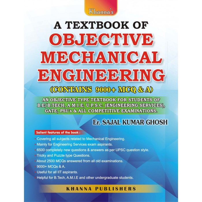 A Textbook of Objective Mechanical Engineering (Contains 9000+ MCQ & A)
