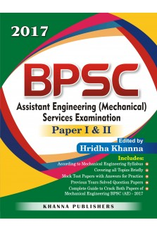 BPSC Assistant Engineering in Mechanical Services Examination Paper I & II
