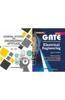 Gate Electrical Engineering with General Studies and engineering aptitude 2 vol Combo set