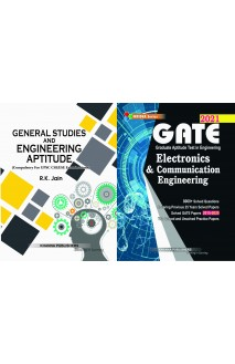 Gate Electronics and Communication Engineering with General studies and engineering aptitude 2 vol combo set