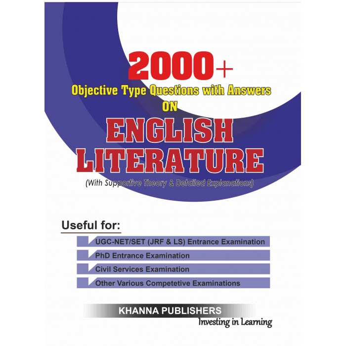 Objective Type Questions with Answers on English Literature