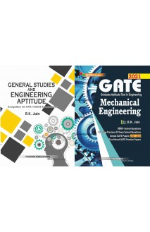 Gate Mechanical Engineering with General Studies and engineering aptitude 2 vol combo set