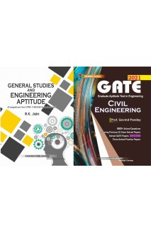 Gate Civil Engineering with General Studies and Engineering Aptitude 2 vol Combo set