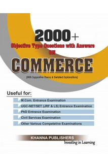 Objective Type Questions with Answers on COMMERCE