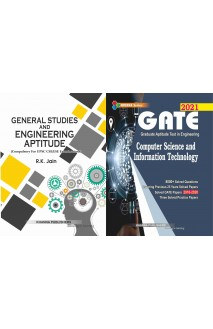 Gate Computer Science and Information Technology with General Studies and Engineering Aptitude 2 vol Combo set