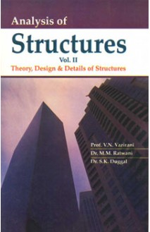 Analysis of Structures Vol-II (Theory, Design & Details of Structures)