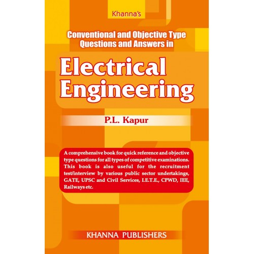 Khanna publishers conventional and objective type questions and answers in electrical engineering fandeluxe