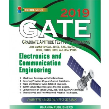 GATE-2019 (Electronics and Communication Engineering)