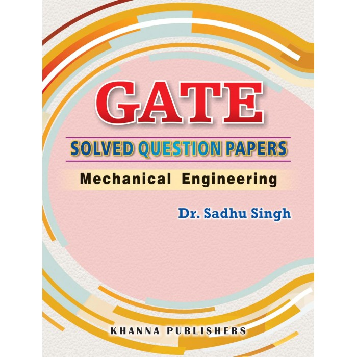E_Book GATE Solved Question Papers Mechanical Engineering