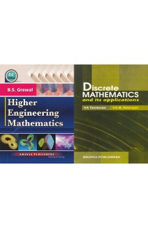 Higher engineering mathematics with Discrete mathematics with 2 vol combo set