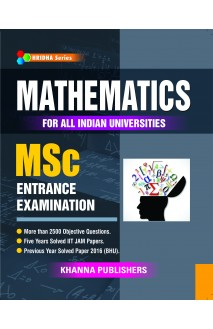 Mathematics For All Indian Universities MSc Entrance Examination