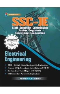SSC-JE IN ELECTRICAL ENGINEERING (Previous years solved and practice paper)