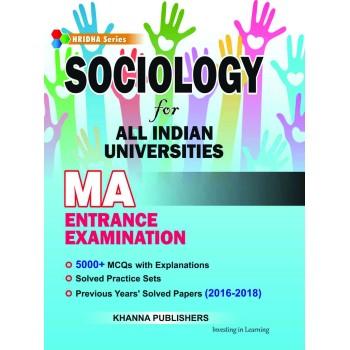 E_Book Sociology for All Indian Universities MA Entrance Examination