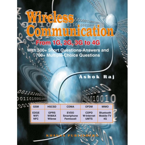 Wireless Communication From 1G  2G  3G TO 4G With 500+ Short