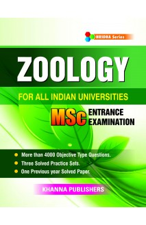 Zoology (For All Indian Universities MSc Entrance Examination)