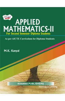 Applied Mathematics - II (as per AICTE Curriculum for Diploma Students)