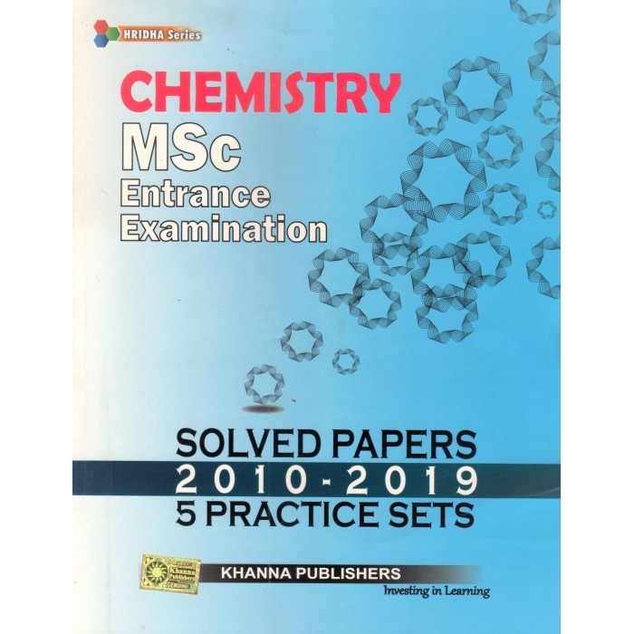 Chemistry (MSc Entrance Examination Solved Papers)