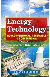 E_Book Energy Technology  (Non Conventional, Renewable and Conventional)
