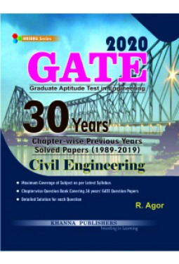 GATE Civil Engineering Chapter-wise Previous Years Solved Papers