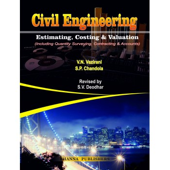 Civil Engineering Estimating, Costing & Valuation